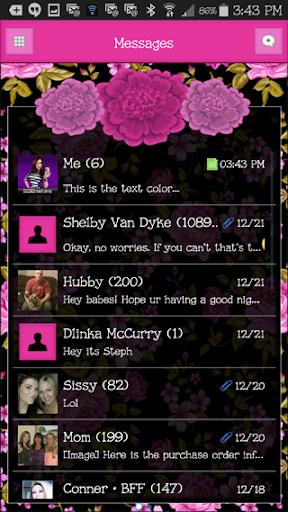 GO SMS THEME - SCS448