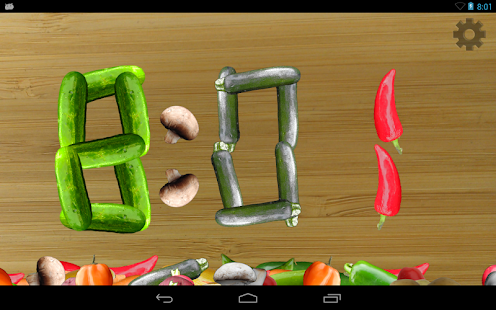 Veggie Clock: Alarm,Timer,Fun- screenshot thumbnail