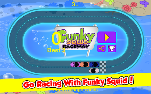 Funky Squid Goes Racing- screenshot thumbnail