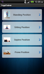Yoga Trainer Free - screenshot thumbnail