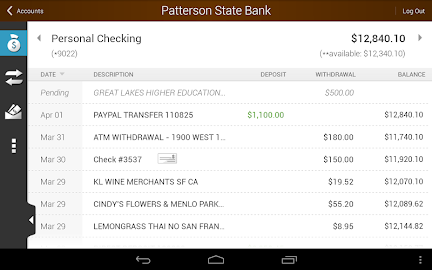 Patterson State Bank Mobile Screenshot 22