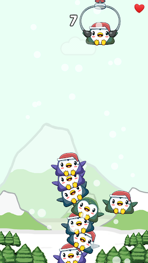 Penguin Tower: Birds Stack
