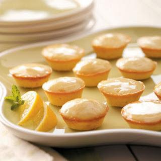 Moist Lemon Tea Cakes.