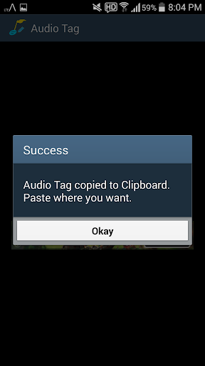 Audio Tag Creater