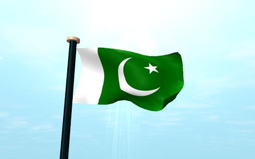 免費個人化App 巴基斯坦旗3D免費動態桌布 阿達玩APP