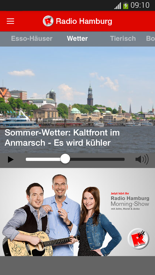 Radio Hamburg- screenshot