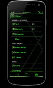 CM10 JB Theme: VENOM FREE - screenshot thumbnail