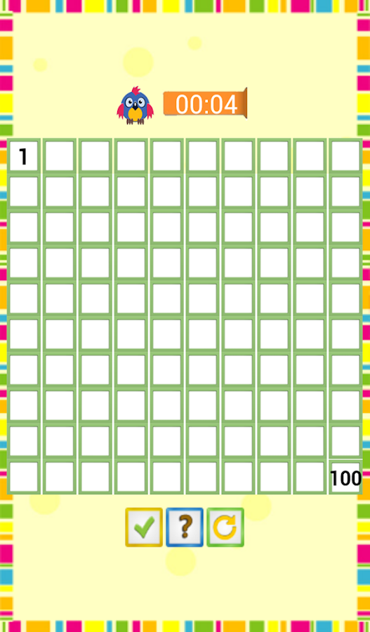Kids Counting Hundred Chart- screenshot