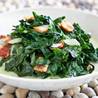Kale and Bacon Recipe, Caribbean Style.
