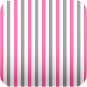 pink & gray stripes wallpaper
