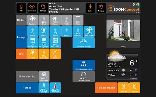iDom KNX pad版