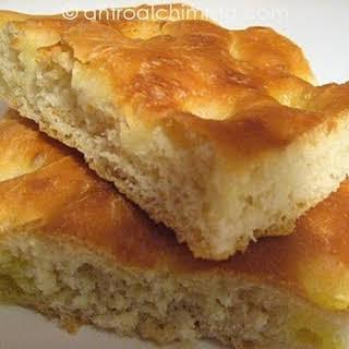 Genovese Focaccia Bread.