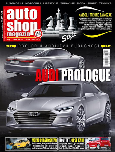 Auto Shop Magazin dec. 2014.