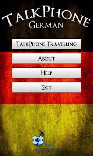 TalkPhone German Travelling