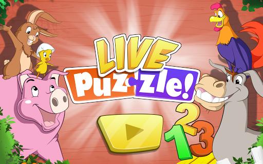라이브 퍼즐 어린이 농장 숫자 놀이