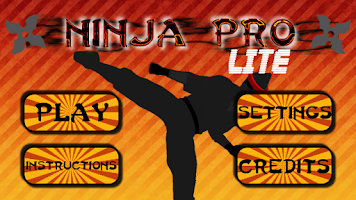 Screenshot of Ninja Pro Lite