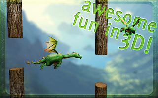 Screenshot of Floppy Dragon 3D