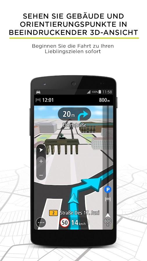 tomtom go mobile gps karten android apps auf google play. Black Bedroom Furniture Sets. Home Design Ideas