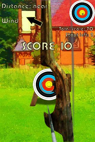 Archer bow shooting - screenshot