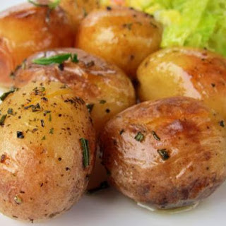 Pressure Cooker Roast Potatoes.