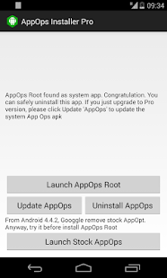 App Ops [Root] - screenshot thumbnail