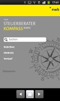 Screenshot of NWB Steuerberater Kompass