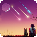 Romatic Meteor Live Wallpaper icon