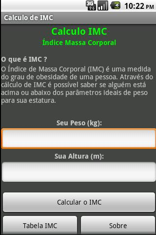 IMC - screenshot