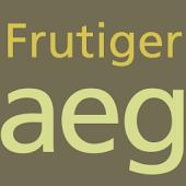 Frutiger FlipFont