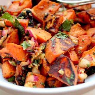 Chili Lime Sweet Potato Salad.