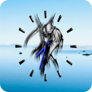 Free Apk android  Grim Reaper Clock Widget 1.0  free updated on