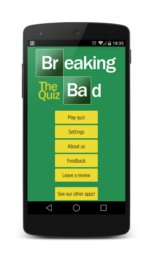 Breaking Bad - The Quiz! - screenshot
