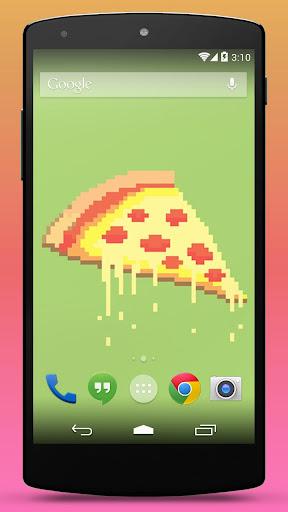 玩免費個人化APP|下載ピザライブ壁紙 app不用錢|硬是要APP
