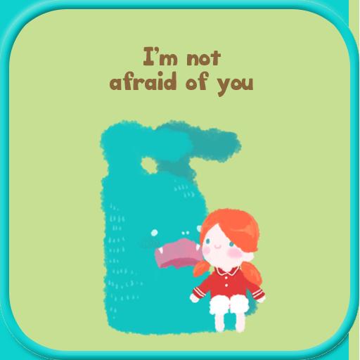 I'm not afraid of you golocker