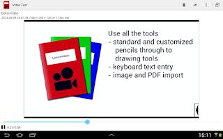 Screenshot of LectureVideos
