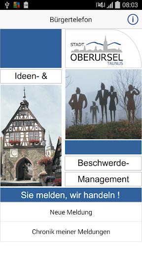 Bürgertelefon Stadt Oberursel