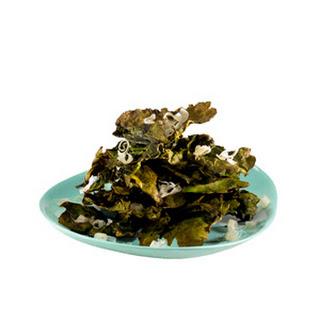 Crispy Tamari Kale Chips