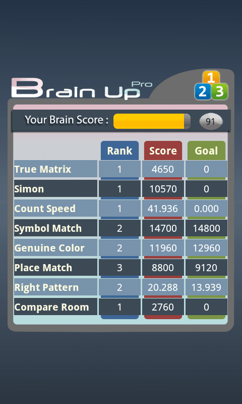 Brain Up Pro- screenshot
