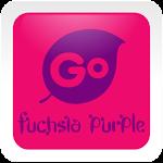 Fuchsia Purple Go Keyboard