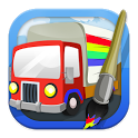 Coloring: Trucks icon