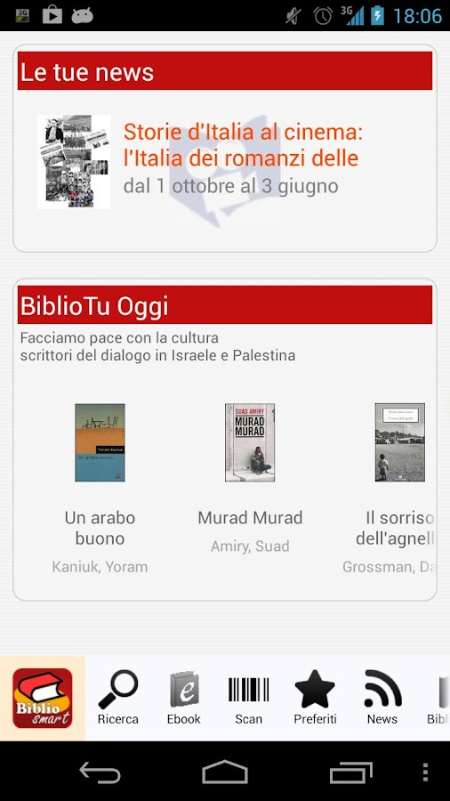 BiblioSmart- screenshot