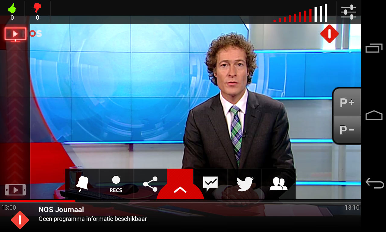 Vodafone Thuis TV - screenshot