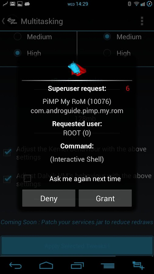 Pimp My Rom (ALPHA OVER) - screenshot