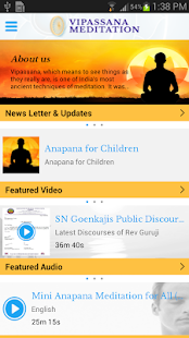 Vipassana Meditation- screenshot thumbnail