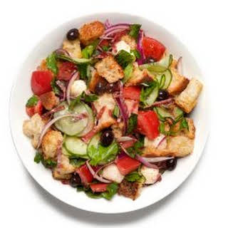 Mix and Match Bread Salad.