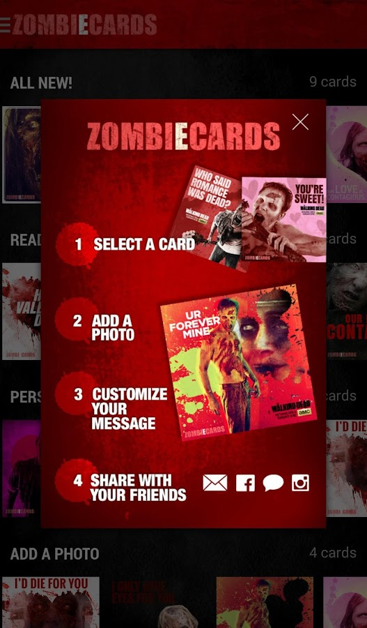 The Walking Dead: ZombiEcards - screenshot