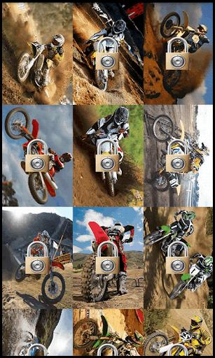 Motocross Puzzle Jupe