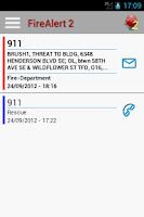 Screenshot of FireAlert 2