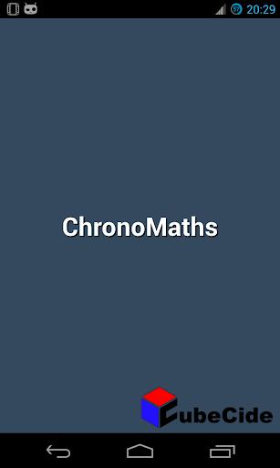 ChronoMaths