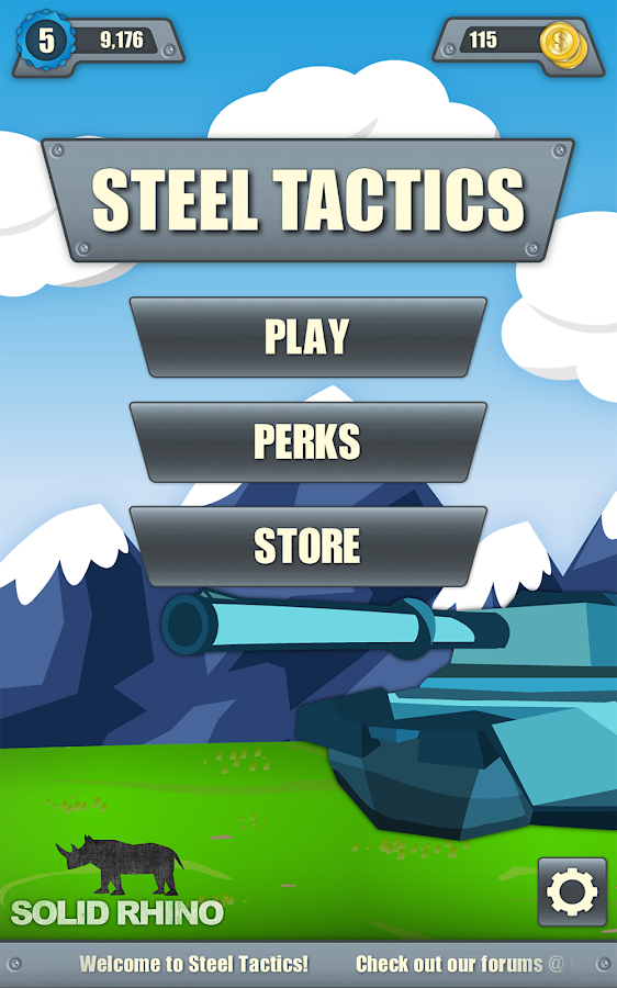 Steel Tactics- screenshot